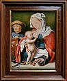 Bottega di joos van cleve, sacra famiglia, 1525 ca.jpg