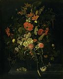 Bouquet of Flowers in a Glass, Oosterwijck.jpg
