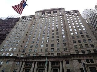 Cunard Building (New York City) Office skyscraper in Manhattan, New York