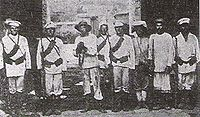 Russian troops in Beijing during the Boxer rebellion.