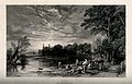 Boys bathing in the river by the playing fields, Eton Colleg Wellcome V0012637.jpg