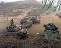 Bradley Fighting Vehicles and M1 Abrams Foal Eagle 1998.jpg