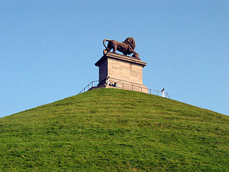 Waterloo, Belgium - Image: Braine L'Alleud Butte du Lion dite de Waterloo (1)