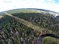 Brasla, mežs un Slūnu iezis-skats no augšas - panoramio.jpg