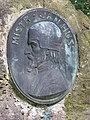 Bratronice (KL), pomník Mistru Janu Husovi, relíéf.jpg