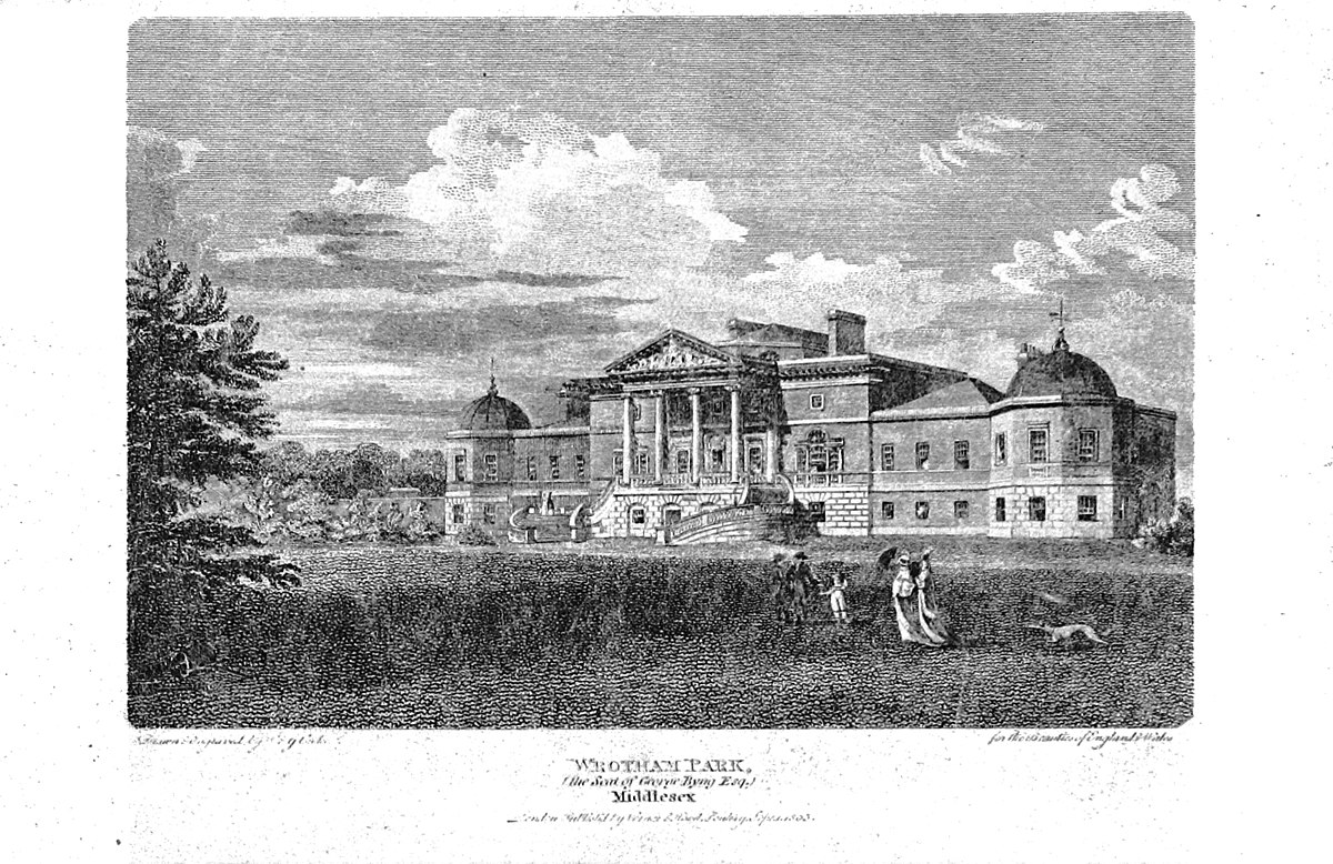 Used Town And Country >> Wrotham Park - Wikipedia