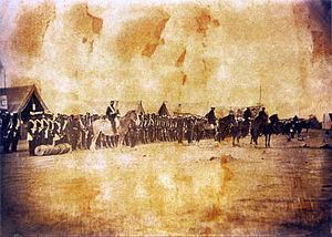 Battle of Ytororó - Brazilian´s troops in Ytororó.