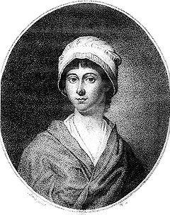 Charles-Paul-Jérôme de Bréa, Charlotte Corday peu avant son exécution, gravure au pointillé d'après un dessin sur le vif, 17 juillet 1793.