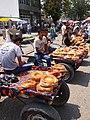 Bread Vendors in Bazaar - Andijon - Uzbekistan (7544009254).jpg