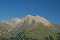 Bretterwandspitze, Gradötz und Kendlspitze von der Wodenalm II.JPG