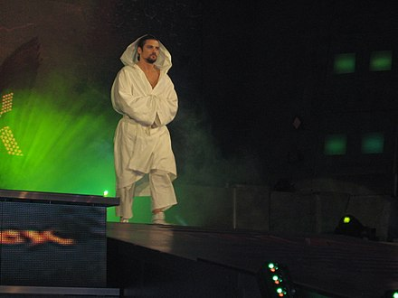 Kendrick performing under his new gimmick in September 2010. Brian Kendrick TNA.jpg