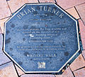Brian Turner memorial plaque in Dunedin.jpg