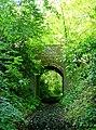 Bridge over a footpath, Timbold Hill - geograph.org.uk - 16842.jpg