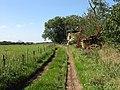 Bridleway Behind Bockleton Church - geograph.org.uk - 1480075.jpg