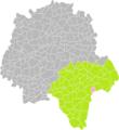 Bridoré (Indre-et-Loire) dans son Arrondissement.png