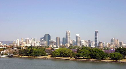 Brisbane CBD, Brisbane is not only the largest city in Queensland but also the capital