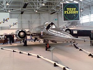 Bristol 188 - Bristol 188 at the Royal Air Force Museum Cosford