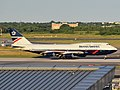British Airways (Landor livery) Boeing 747-436 G-BNLY (City of Swansea) departing JFK Airport.jpg