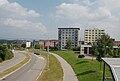 Brno-Nový Lískovec - sídliště Nový Lískovec z lávky u zastávky Koniklecová.jpg