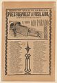 Broadsheet relating to the execution of a prophet named Don Gustavo, man lying face down MET DP868527.jpg