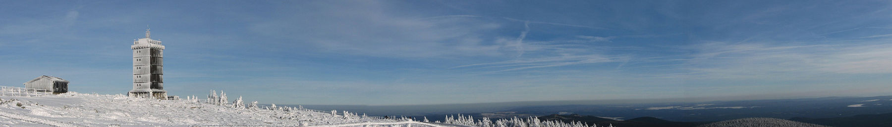 Brocken in winter