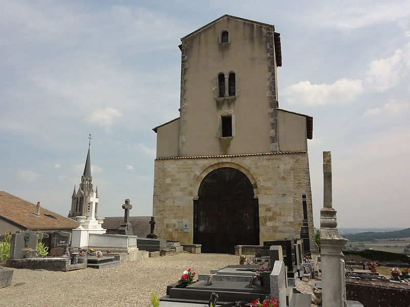 Bruley (Meurthe-et-M.) chapelle (église) Saint-Martin XIIe MH