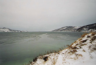Sea of Okhotsk - Nagayevo Bay near Magadan, Russia