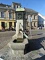 Buckow (Märkische Schweiz) Marktbrunnen.JPG