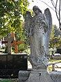 Bucuresti, Romania. Cimitirul Bellu Catolic. Un alt inger trist intr-o zi de octombrie 2017. (2).jpg
