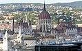 Budapest, Parlamentsgebäude von der St.-Stephans-Basilika 2014-08.jpg