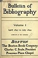 Bulletin of Bibliography Vol 1 Title Page.jpg