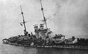 Bundesarchiv Bild 134-C2280, Szent István, Sinkendes Linienschiff