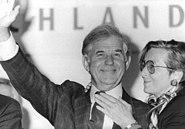 Bundesarchiv Bild 183-1990-1012-022, Dresden, Landtagswahl, Kurt Hans Biedenkopf