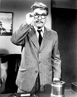 Time Enough at Last - Burgess Meredith as Henry Bemis