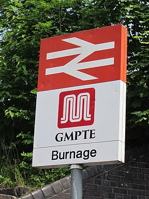 Burnage - Burnage railway station