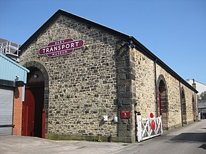 Bury Transport Museum - Image: Bury Transport Museum West Exterior April 2017