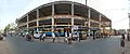 Bus Terminus with Shopping Complex under Construction - Howrah Zilla Parishad - Amta Road - West Bengal State Highway 15 - Domjur - Howrah 2014-04-14 0557-0562.JPG