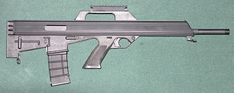 Bushmaster M17S - The Bushmaster M17S rifle