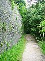Butrint, anticke vykopavky - hradebni zed II.jpg