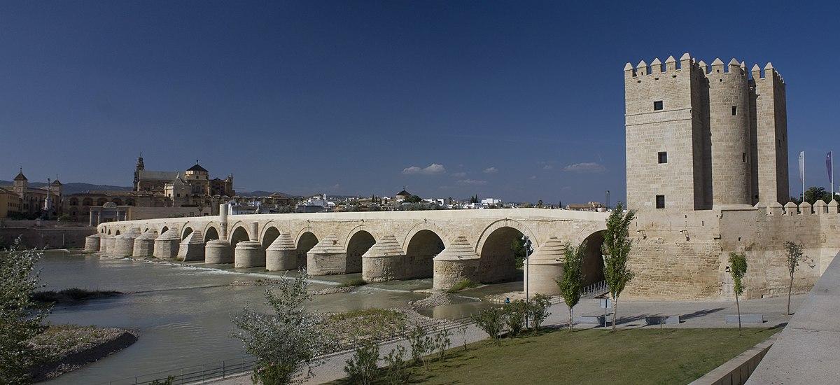 Córdoba-Puente Romano-Vista del Molino de la Calahorra-20110916.jpg