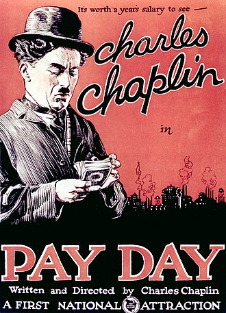 Pay Day (1922 film) - Theatrical release poster