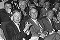 CDA-partijraad in Rotterdam i.v.m. kamerverkiezingen Van Agt (l) en Piet Steenk, Bestanddeelnr 932-2332.jpg