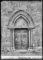CH-NB - Lausanne, Cathédrale protestante Notre-Dame, vue partielle extérieure - Collection Max van Berchem - EAD-7288.tif