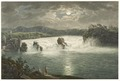 CH-NB - Rheinfall bei Vollmond, von Westen - Collection Gugelmann - GS-GUGE-LUTTRINGHAUSEN-1-16.tif