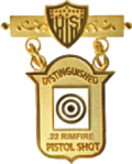 CMPs 22 Rimfire Pistol Distinguished Badge Drawing.png