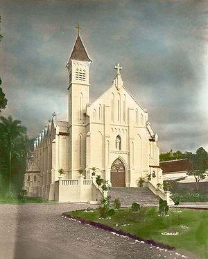 COLLECTIE TROPENMUSEUM Rooms-katholieke kerk Buitenzorg TMnr 60016616