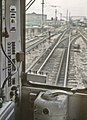 CTA probably the Skokie Swift at Howard St.,Chicago, IL in May 1964 (25819559081).jpg