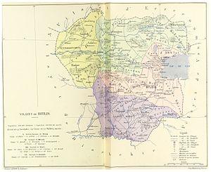Bitlis Vilayet - Image: CUINET(1892) 2.552 Bitlis Vilayet