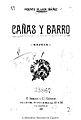 Cañas y barro 1902 Blasco Ibáñez.jpg