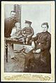 Cabinet photograph of family with military father - gorgeous kids! (13892723012).jpg